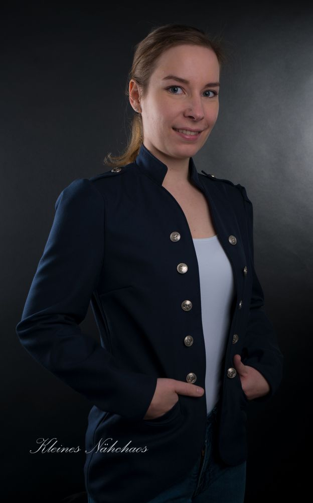 "eBook - Blazer ""Military Lady"" Größen 34 - 54"
